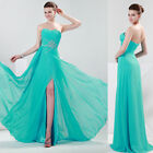 Stock!New Long Cocktail Party Bridesmaids Ball Gown Evening Prom Formal Dresses