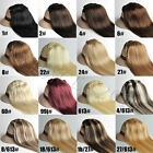 "16"" 15 colors 7pcs​,70g , clip in human hair extensions,free shipping."