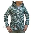 Nike Packable Camouflage Trail Jacket 546390 338 giacca uomo donna army green
