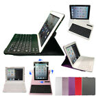360 Rotating PU Leather Bluetooth Wireless Keyboard Case Cover for Apple iPad 3