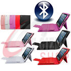 Wireless Keyboard Leather Case Cover with Built-in Bluetooth  for iPad Mini