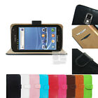 F Leather PU Hard Wallet Skin Case Cover T-mobile Samsung Galaxy S 2 II S2 T989