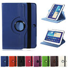 360°Rotating PU Leather Smart Case Stand For Samsung Galaxy Tab 3 10.1 P5200