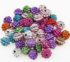 New Arrival 300pcs dot bicone acrylic beads 11x9.5mm