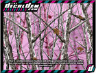 Pink Arctic Winter Realtree Vehicle Wrap Panel Camouflage The Decal Den Hunter