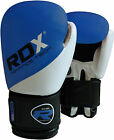 RDX Maya Hide Leather Boxing Gloves Fight Punch Bag MMA UFC Muay Thai Grappling