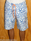 Trukfit Shorts New $58 Surf The Web Mens White Water Swim Trunks Choose Size