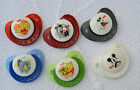 PJs ♥♥ Nuk Baby Disney ♥♥ SMALL DUMMY PACIFIER SOOTHER + MAGNET 4 REBORN DOLL