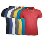 MENS 883 POLICE JEANS RENZO SHORT SLEEVED BUTTONED POLO T-SHIRT TOP SIZES S-XXL