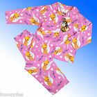 Girls Disney Tinkerbell Warm Wincyette Flannel Pyjamas Age 12 Months - 4 Years