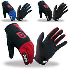 PJ Men's Comfy Sports Cycling Bike Bicycle Full Finger Gloves 3 Size S~L