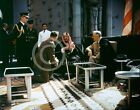 1945 Photo FDR Meets w/ King Ibn Saud Saudi Arabia USS Quincy