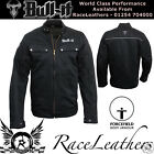 BULL-IT LASER4 CARBON COVEC LINED DENIM MOTORCYCLE MOTORBIKE BIKE JACKET