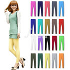 Women's Sexy 20 Candy Color Modal Solid Leggings Elastic Stretchy