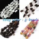 "20-30x22-32mm freeform crude gemstone loose beads strand 15""jewelery making bead"