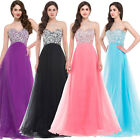 New CORSET Evening Wedding Bridesmaids Dress Party Formal Prom Maxi Long Dresses