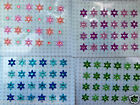 24 SELF ADHESIVE GLITTER STAR STICKER CARD MAKING SCRAPBOOKING EMBELLISHMENTS