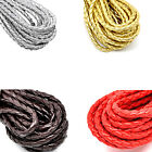 "5 Nice M Braiding Leatheroid Jewelry Cord 5mm( 2/8"") M1750"