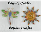 Southwestern Design Magnets Dragonfly or Southwest Sun - So Cute!