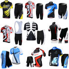 Short Sleeve Men's Multi-style Outdoor Sports Cycling jersey + Short Pants