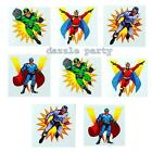 Childrens/Boys Super Hero Temporary Tattoos for Kids Party Bag Fillers/Toys