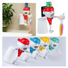 Creative Lovely Q Doll Automatic Toothpaste Dispenser/Tooth Mug Set Home Bath