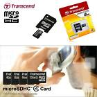 TRANSCEND MICRO SDHC (MICRO SD 2.0) CLASS 4 HIGH SPEED MEMORY CARD PHONE TABLET