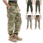 Men Camouflage Combat Workwear Army Trousers Casual Loose Long Hunting Pants new