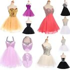 Sexy Formal Homecoming Prom Ball Gown Cocktail Party Evening Short Mini Dresses