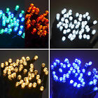 100 LED String Lights (10m) Connectable Waterproof Outdoor Christmas Fairy Mains
