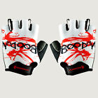 PJ Men's Outdoor Sports MTB Cycling Bike Bicycle Racing Half Finger Gloves XS~L