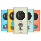 HEAD CASE DESIGNS WILBUR THE CAT CASE COVER FOR NOKIA LUMIA 1020