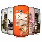 HEAD CASE DESIGNS CATS CASE COVER FOR SAMSUNG GALAXY S3 III MINI I8190