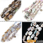 Natural Freeform Crude Jewelry Making loose gemstone beads strand 15""