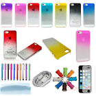 New Colorful 3D Rain Drop Clear Crystal Hard Case Cover Skin For iPhone 5 5G 5S