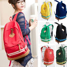 NWT Women Girl Unisex Travel Backpack Canvas Leisure Bags School bag Rucksack