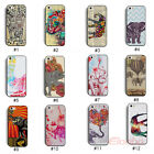 New Cute Elephant Hard Plastic Back Case Cover Skin For iPhone 5 5G 5S