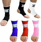 ANKLE SUPPORTS OR ANKLETS (PAIRS) FOR MMA KICKBOXING SPORTS TRAINING