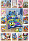 Childrens Bedding Kids Single Duvet Character Sets Girls Boys Bed Set Disney New