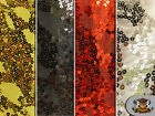 """Sequin Semi Fish Scale Stretch Fabrics / 60"""" Wide / Sold by the yard"""