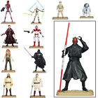 Star Wars Movie Heroes Action Figures With Battle Game Card Weapon & Base For 4+