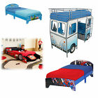 Choose from children's Wooden Single size Bed, Boat Car Princess VW Devan NEW