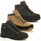 MENS GROUNDWORK LEATHER SAFETY BOOTS STEEL TOE CAP ANKLE WORK SHOES TRAINERS