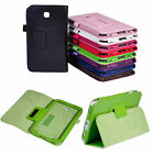 Cute PU Leather Stand Case Cover For Samsung Galaxy Tab3 7.0 7inch T210 P3200 TT