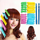 14/22Pc DIY Magic Hair Curlers Formers Spiral Curl Ringlet Leverag Rollers