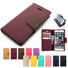 New pu-leather 3-pouch stand wallet case cover w/lock belt for iPhone 4 4S 5 5S