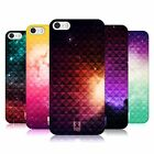 HEAD CASE PRINTED STUDDED OMBRE PROTECTIVE BACK CASE COVER FOR APPLE iPHONE 5 5S