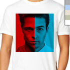 TYLER DURDEN VS THE NARRATOR T-Shirt. Fight Club Mash, Brad Pitt, Edward Norton