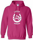 HORSERIDING HOODIE HORSESHOE HOODY HORSE HOODED SWEAT SIZE S-XXL VARIOUS COLOURS