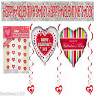Valentines Day Party Decorations Supplies Banner String Decorations Balloons